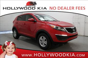 2011 Kia Sportage for sale in Hollywood, FL