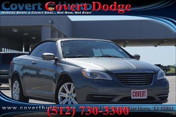 2011 Chrysler 200 Convertible for sale in Austin, TX