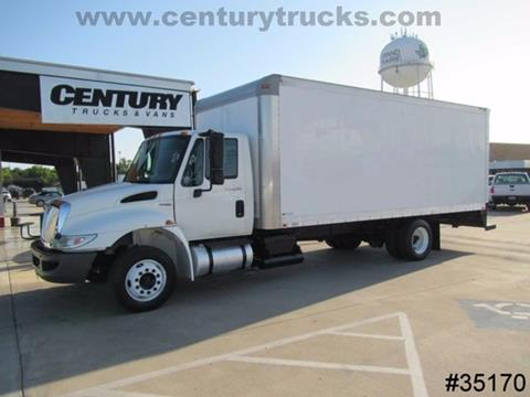 2010 International 4300 20' BOX TRUCK for sale in Grand Prairie TX
