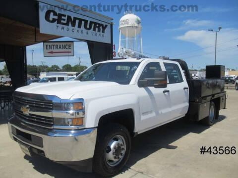 2016 Chevrolet 3500 4X4 Drw for sale at CENTURY TRUCKS & VANS in Grand Prairie TX