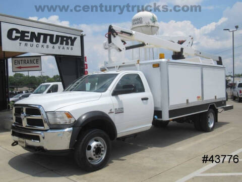 2013 RAM Ram Chassis 5500 for sale at CENTURY TRUCKS & VANS in Grand Prairie TX