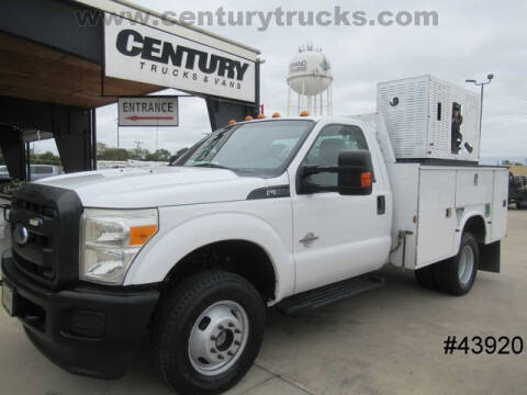 2013 Ford F-350 Super Duty for sale at CENTURY TRUCKS & VANS in Grand Prairie TX