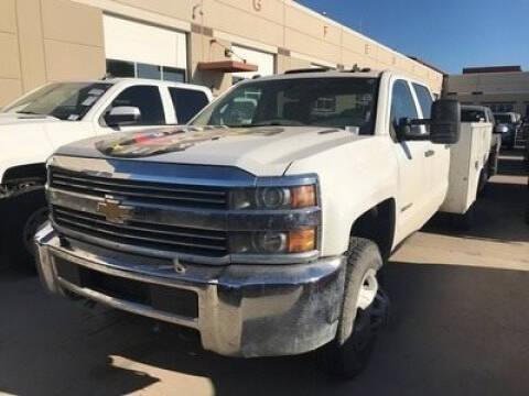 2015 Chevrolet 3500 4X4 DRW for sale at CENTURY TRUCKS & VANS in Grand Prairie TX