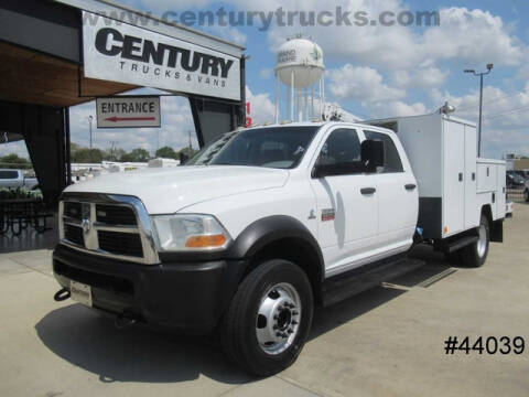 2012 RAM Ram Chassis 5500 for sale at CENTURY TRUCKS & VANS in Grand Prairie TX