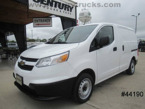 2015 Chevrolet City Express Cargo for sale at CENTURY TRUCKS & VANS in Grand Prairie TX