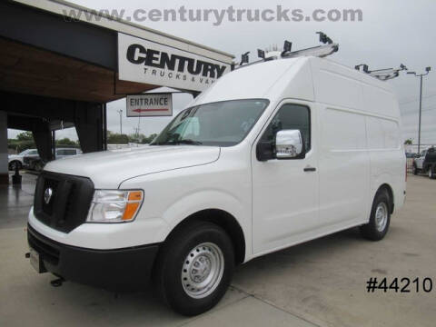 2020 Nissan NV Cargo for sale at CENTURY TRUCKS & VANS in Grand Prairie TX
