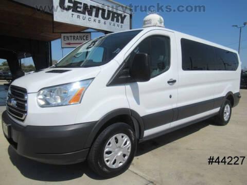 2016 Ford Transit Passenger for sale at CENTURY TRUCKS & VANS in Grand Prairie TX