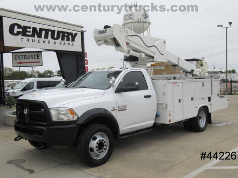 2015 RAM Ram Chassis 5500 for sale at CENTURY TRUCKS & VANS in Grand Prairie TX