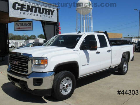 2018 GMC Sierra 2500HD for sale at CENTURY TRUCKS & VANS in Grand Prairie TX