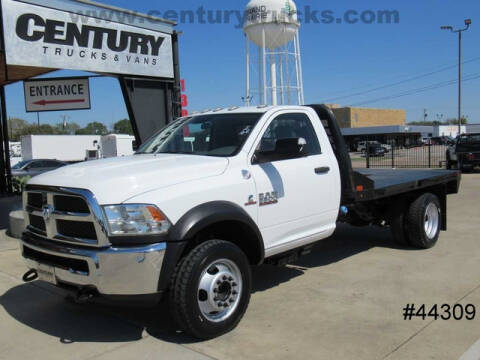2017 RAM Ram Chassis 5500 for sale at CENTURY TRUCKS & VANS in Grand Prairie TX