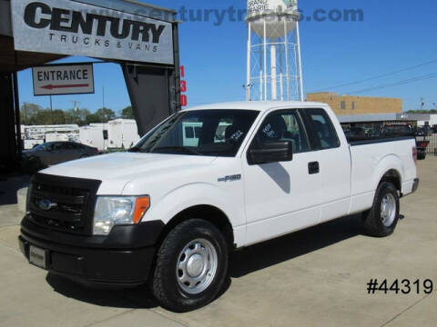 2014 Ford F-150 for sale at CENTURY TRUCKS & VANS in Grand Prairie TX