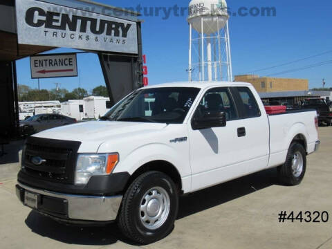 2013 Ford F-150 for sale at CENTURY TRUCKS & VANS in Grand Prairie TX