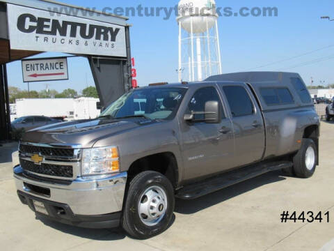 2013 Chevrolet Silverado 3500HD for sale at CENTURY TRUCKS & VANS in Grand Prairie TX