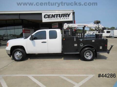 2013 GMC Sierra 3500HD for sale at CENTURY TRUCKS & VANS in Grand Prairie TX