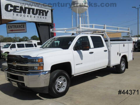 2016 Chevrolet Silverado 2500HD for sale at CENTURY TRUCKS & VANS in Grand Prairie TX