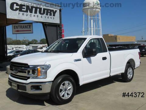 2019 Ford F-150 for sale at CENTURY TRUCKS & VANS in Grand Prairie TX