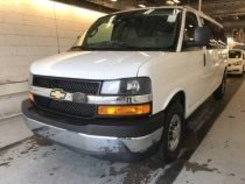 2019 Chevrolet Express Passenger for sale at CENTURY TRUCKS & VANS in Grand Prairie TX