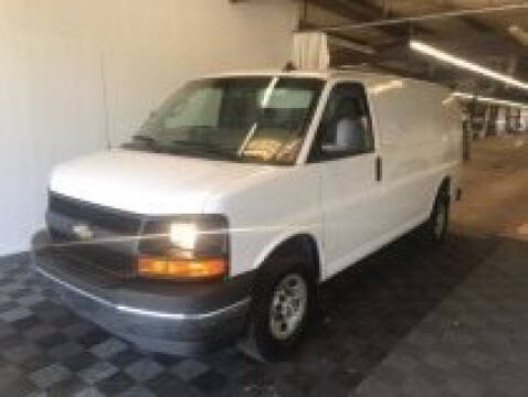 2017 Chevrolet Express Cargo for sale at CENTURY TRUCKS & VANS in Grand Prairie TX