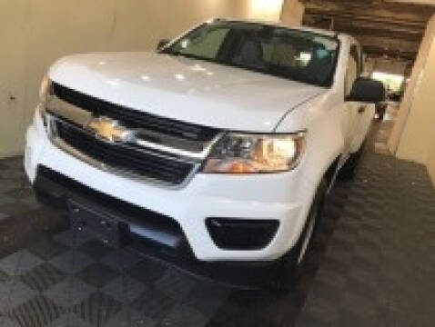 2018 Chevrolet Colorado for sale at CENTURY TRUCKS & VANS in Grand Prairie TX