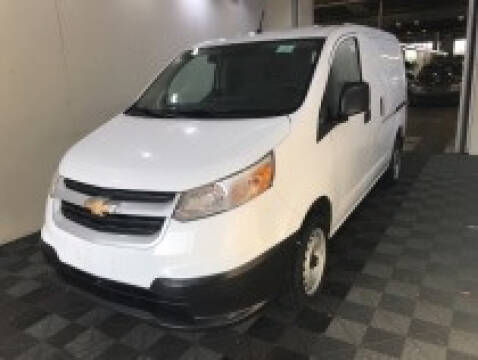 2017 Chevrolet City Express Cargo for sale at CENTURY TRUCKS & VANS in Grand Prairie TX