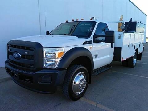 2012 Ford F-550 Super Duty for sale at CENTURY TRUCKS & VANS in Grand Prairie TX
