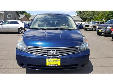 2007 Nissan Quest for sale in Salem, OR