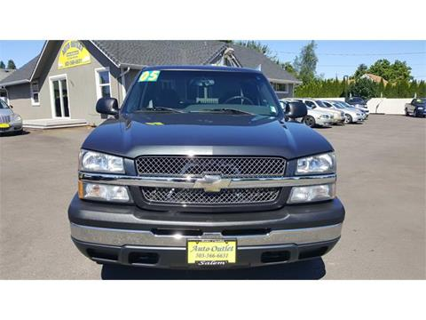 2005 Chevrolet Silverado 1500 for sale in Salem OR