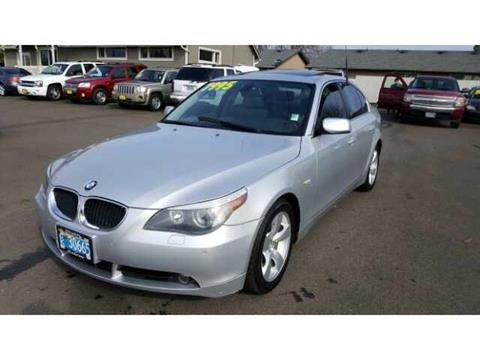 2005 BMW 5 Series for sale in Salem OR