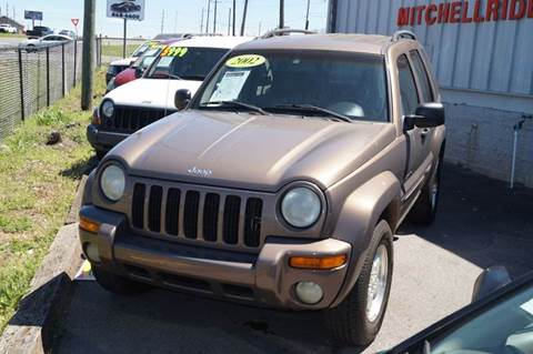 2002 Jeep Liberty for sale at Mitchell Motor Company in Madison TN