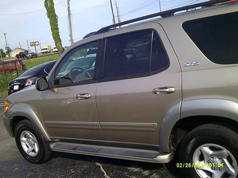 2002 Toyota Sequoia for sale at Mitchell Motor Company in Madison TN