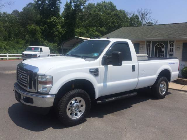 2009 Ford F-250 Super Duty 4x4 XLT 2dr Regular Cab 8 ft. LB - Hammonton NJ