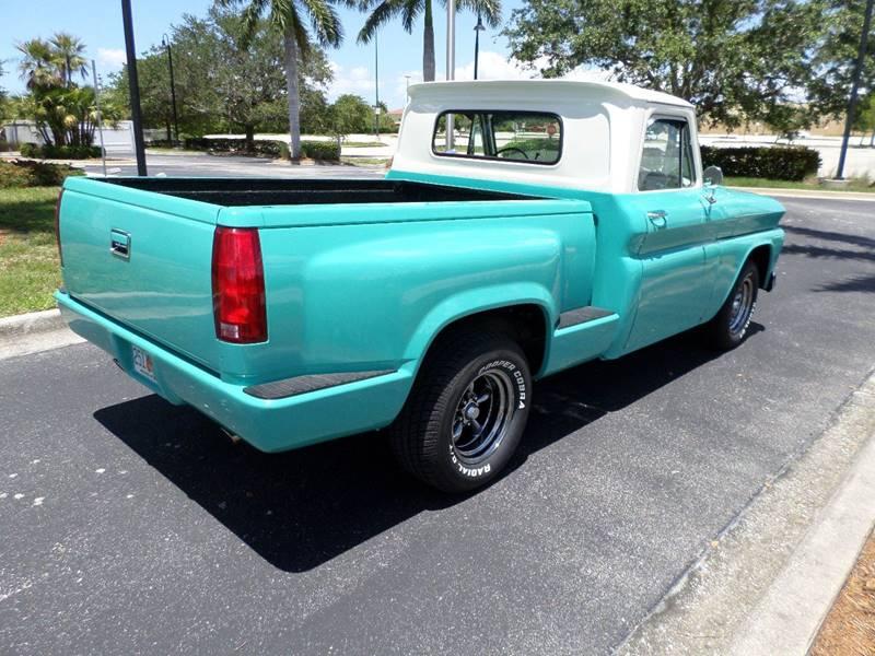 1966 Chevrolet C10  Short Box Stepside Custom Deluxe - Punta Gorda FL