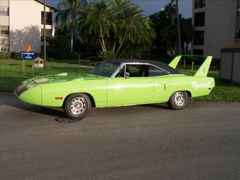1970 Plymouth Super Bird