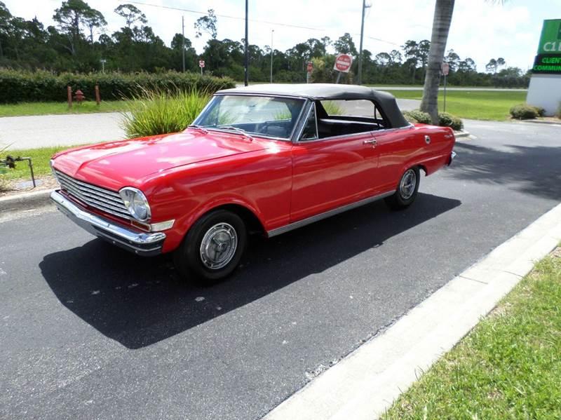 1963 Chevrolet Nova In Punta Gorda Fl Muscle Car City Llc