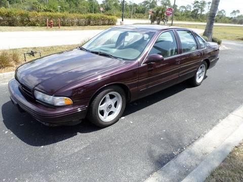 1996 Chevrolet Impala SS 4 door sedan