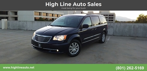 2015 Chrysler Town and Country for sale in Salt Lake City, UT