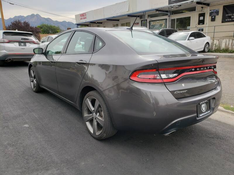 2014 Dodge Dart GT 4dr Sedan - Salt Lake City UT