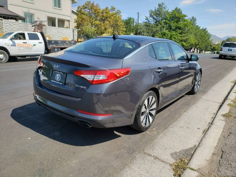 2011 Kia Optima SX Turbo 4dr Sedan - Salt Lake City UT
