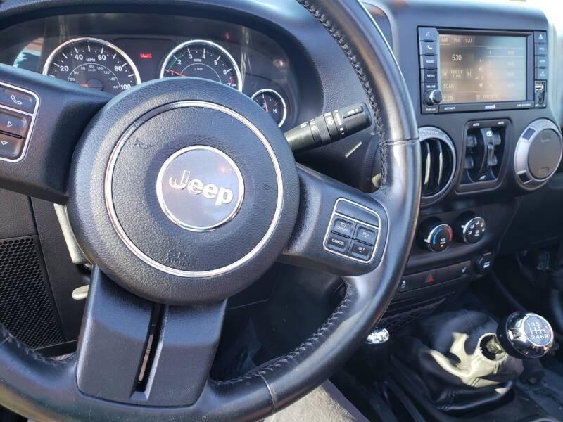 2017 Jeep Wrangler Unlimited 4x4 Sport 4dr SUV - Salt Lake City UT