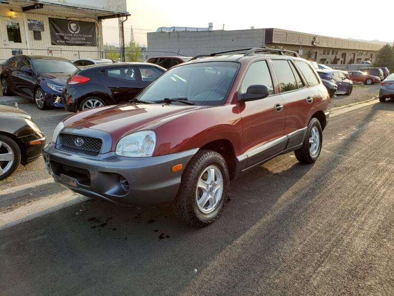 2001 Hyundai Santa Fe GL 2WD 4dr SUV - Salt Lake City UT