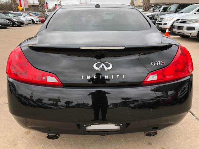 2009 Infiniti G37 Coupe Sport 2dr Coupe In Houston Tx Car Ex Auto