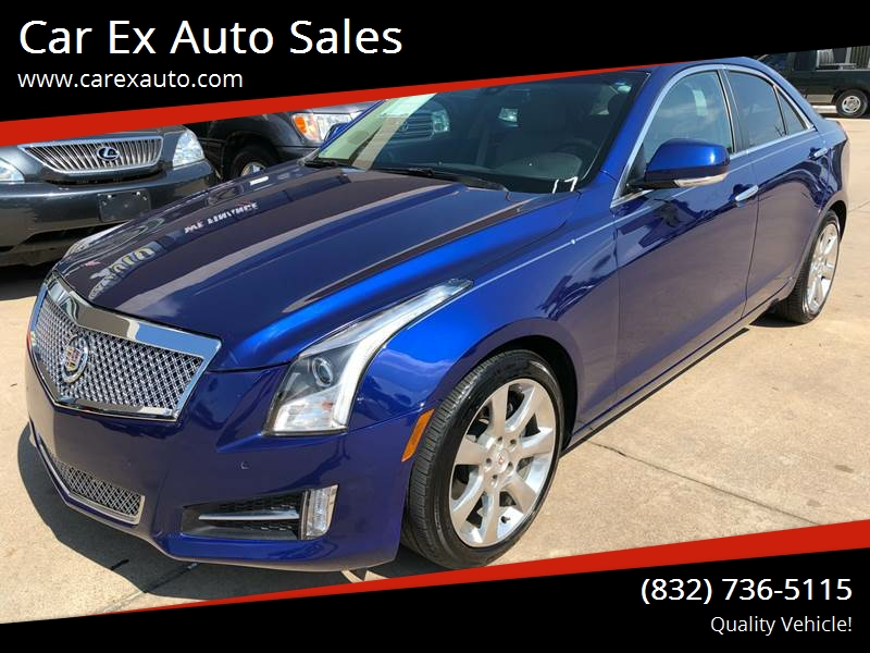 2013 Cadillac Ats 2 0t Luxury 4dr Sedan In Houston Tx Car Ex Auto