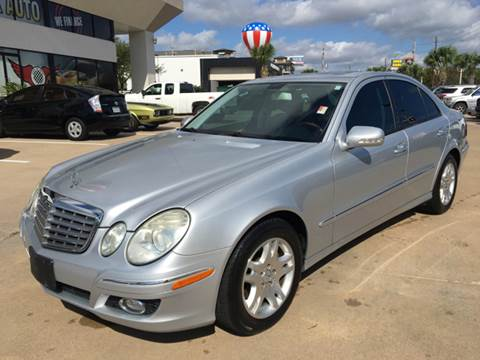 2007 Mercedes-Benz E-Class for sale at Car Ex Auto Sales in Houston TX