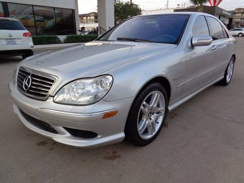 2003 Mercedes-Benz S-Class for sale at Car Ex Auto Sales in Houston TX
