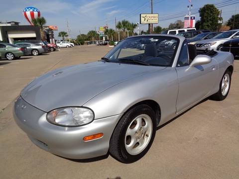 1999 Mazda MX-5 Miata for sale at Car Ex Auto Sales in Houston TX