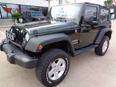 2011 Jeep Wrangler for sale at Car Ex Auto Sales in Houston TX