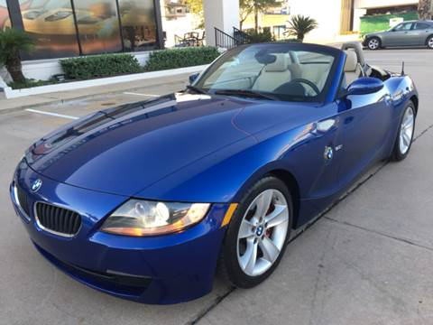 2007 BMW Z4 for sale at Car Ex Auto Sales in Houston TX