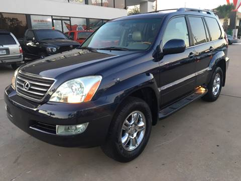 2005 Lexus GX 470 for sale at Car Ex Auto Sales in Houston TX