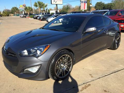 2015 Hyundai Genesis Coupe for sale at Car Ex Auto Sales in Houston TX