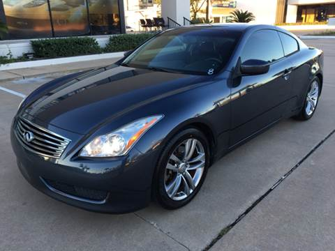 2008 Infiniti G37 for sale at Car Ex Auto Sales in Houston TX